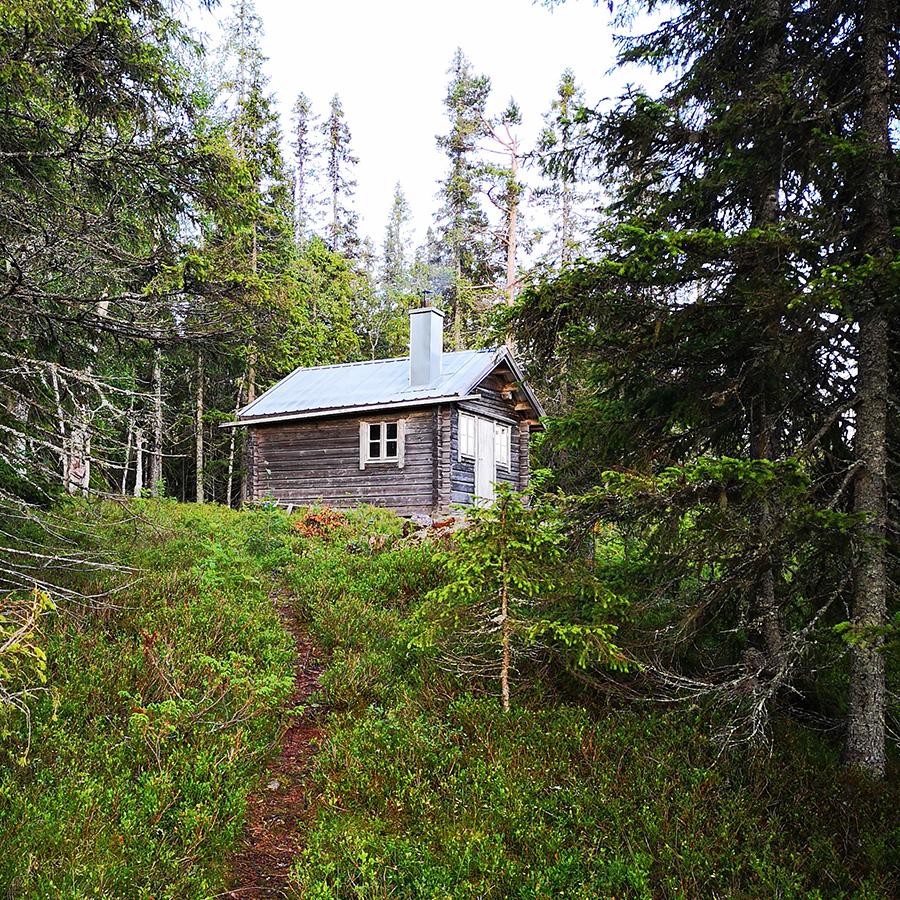 Rödmyrsstugan i Kålhuvudets naturreservat