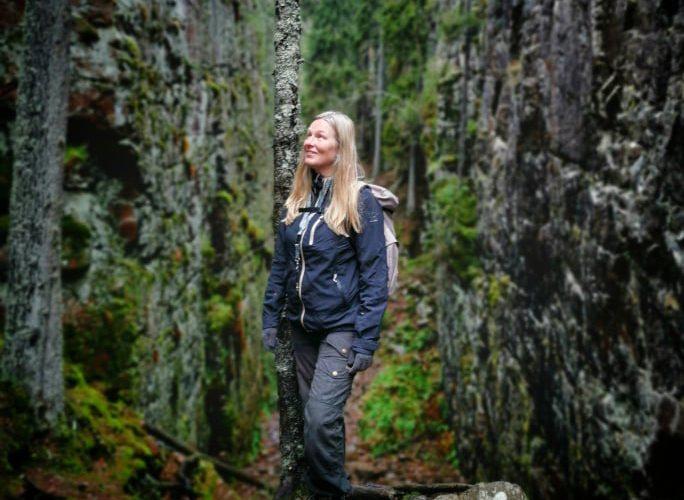 Jag i Skurugata naturreservat