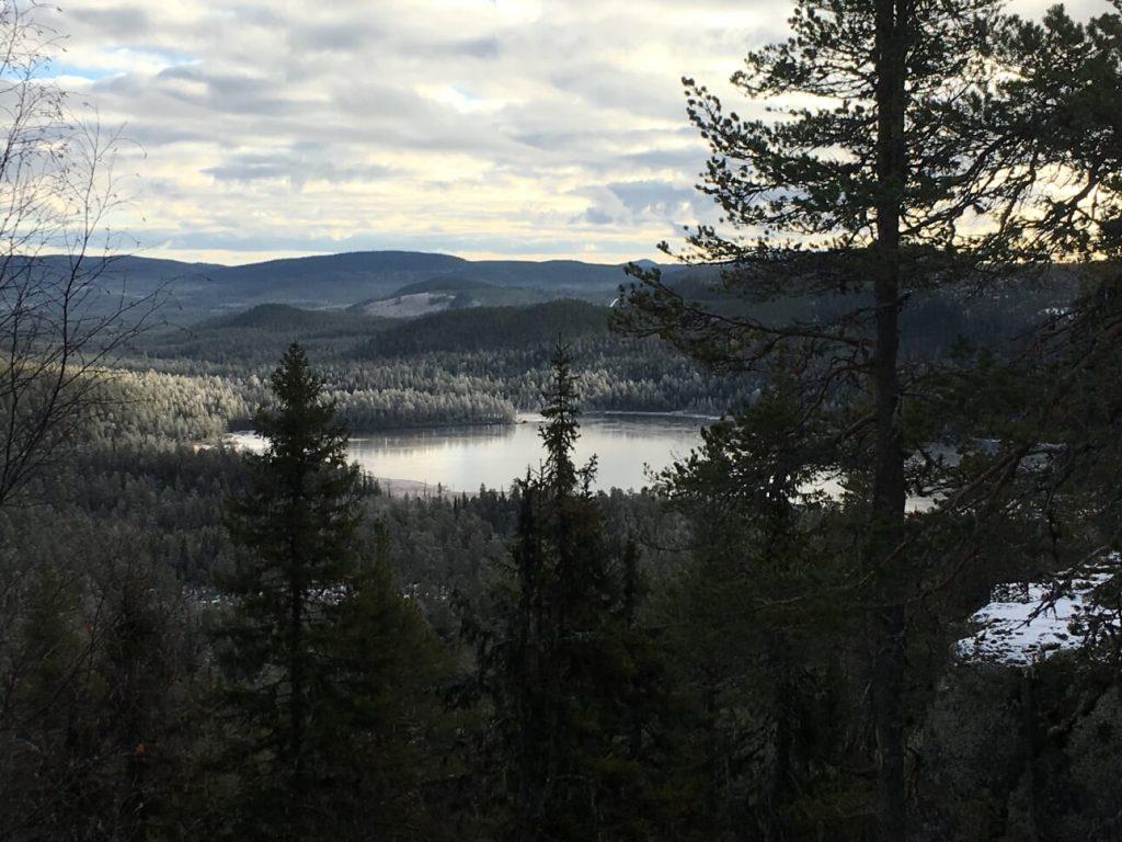 En och annan utsiktspunkt bjuder Björnlandets nationalpark på