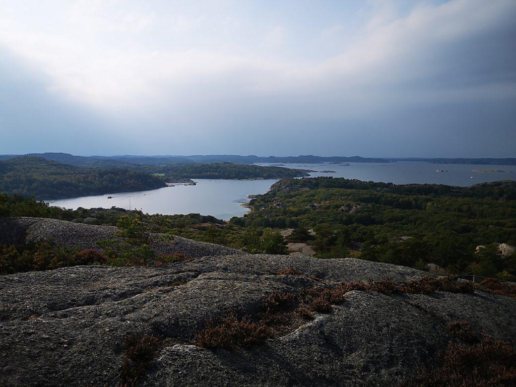 Utsikt från Solklinten Sundsby vandringsleder