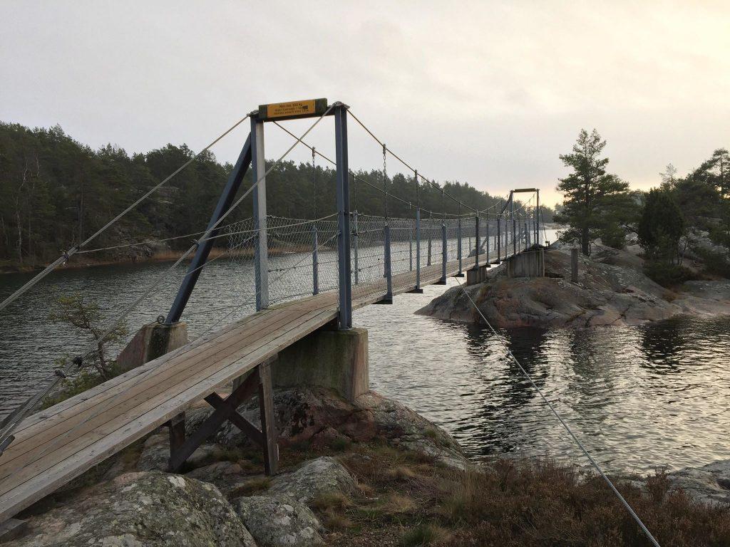 Hängbro, Stendörrens naturreservat