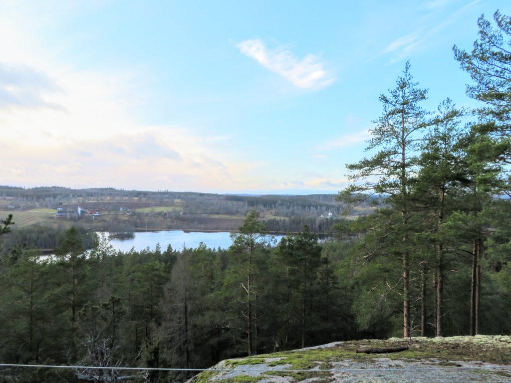 Utsikten från toppen av Selo berg