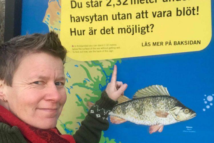 Jag på plats - Sveriges lägsta punkt finns här i vattenriket