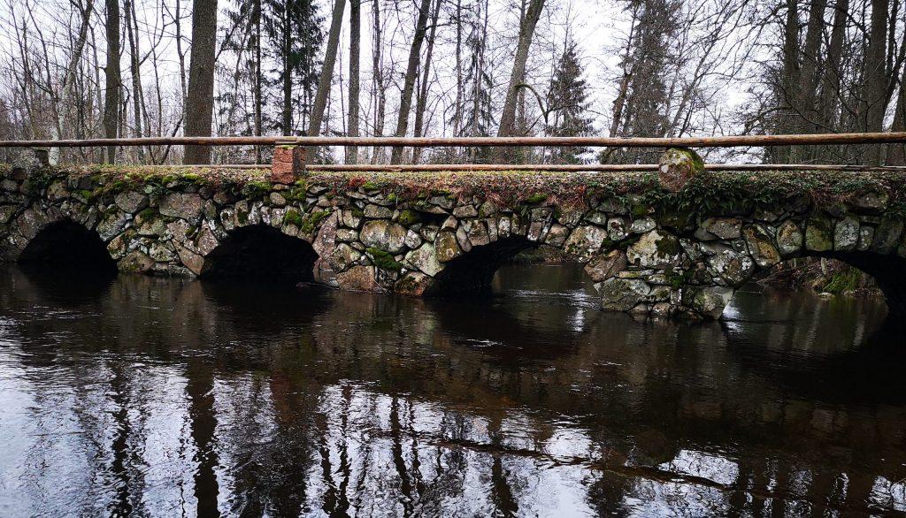 Gäddeforsabron - stenvalvsbro Björkö, Vetlanda
