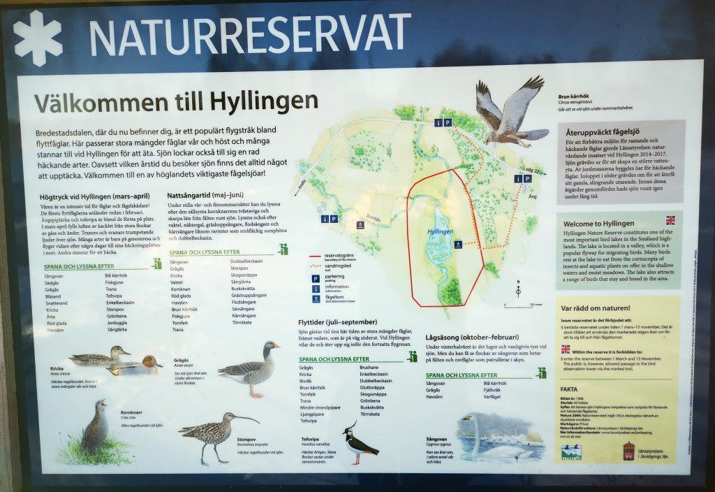 Information om Hyllingen naturreservat - på väg mot fallosstenen