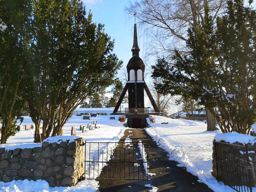 Hade jag inte gått fel hade jag inte fått se denna vackra kyrkogård i Aneby