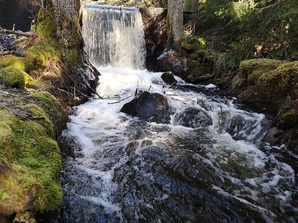 Det andra lilla vattenfallet