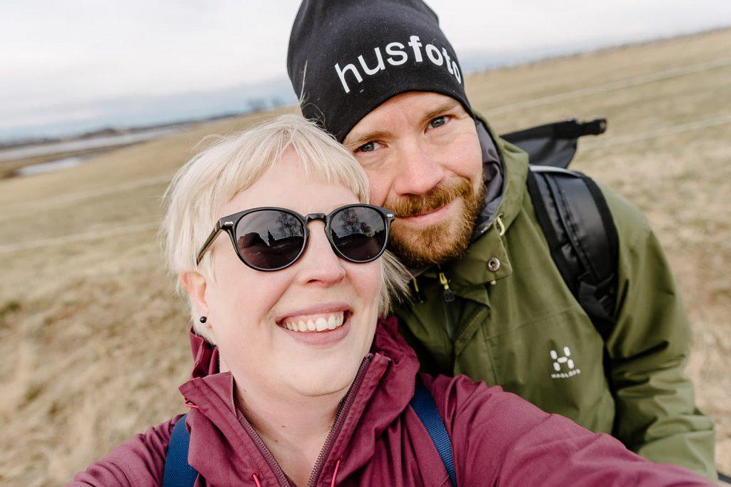 Nöjda med dagen vid Hornborgasjön åkte vi hem
