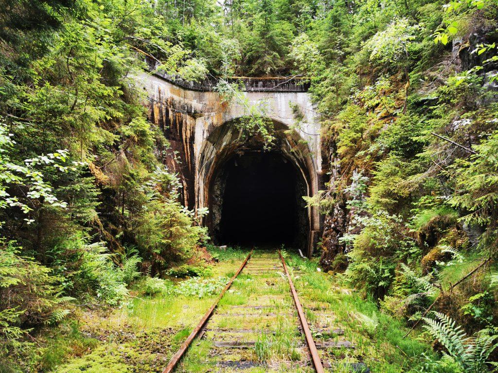 Bollsbytunneln - från och med 2020 får man cykla dressin här igen