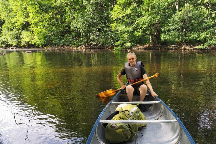 Härlig paddling