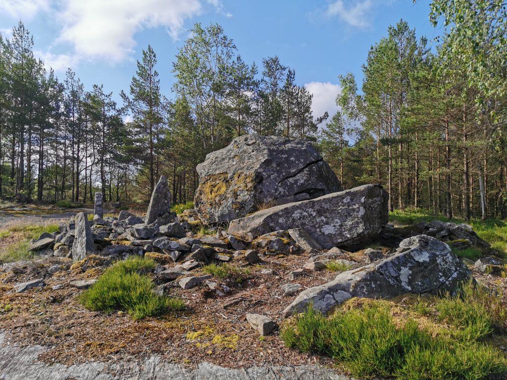 På väg mot Dammekärr från Lysevattnet