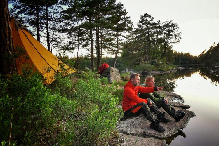 Utanför tältet - Risvedens vildmark
