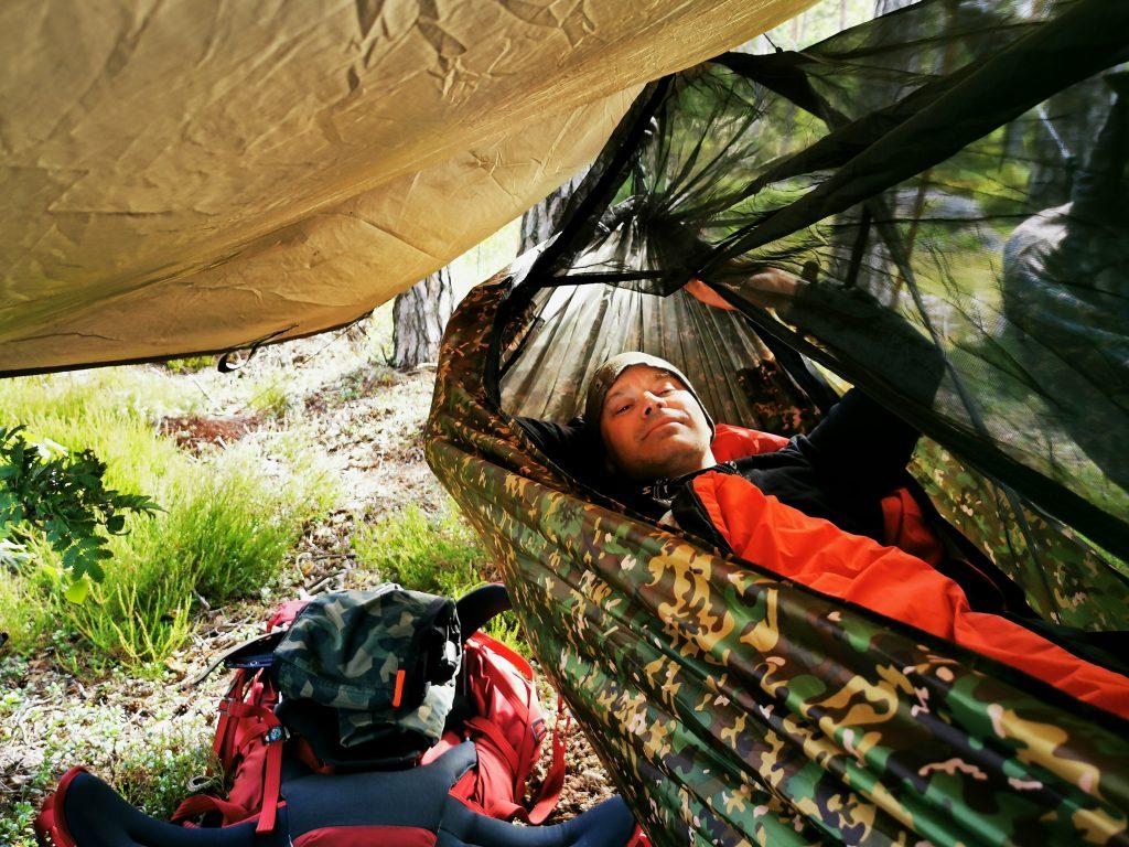 Godmorgon där i in hammock