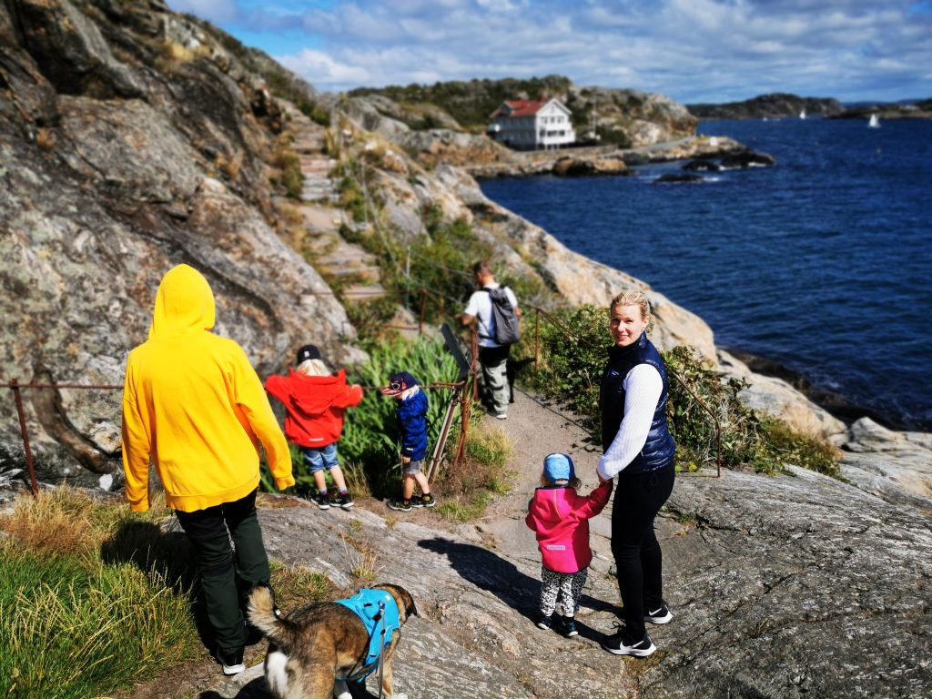 Vilken vacker dag vi fick på Marstrand!