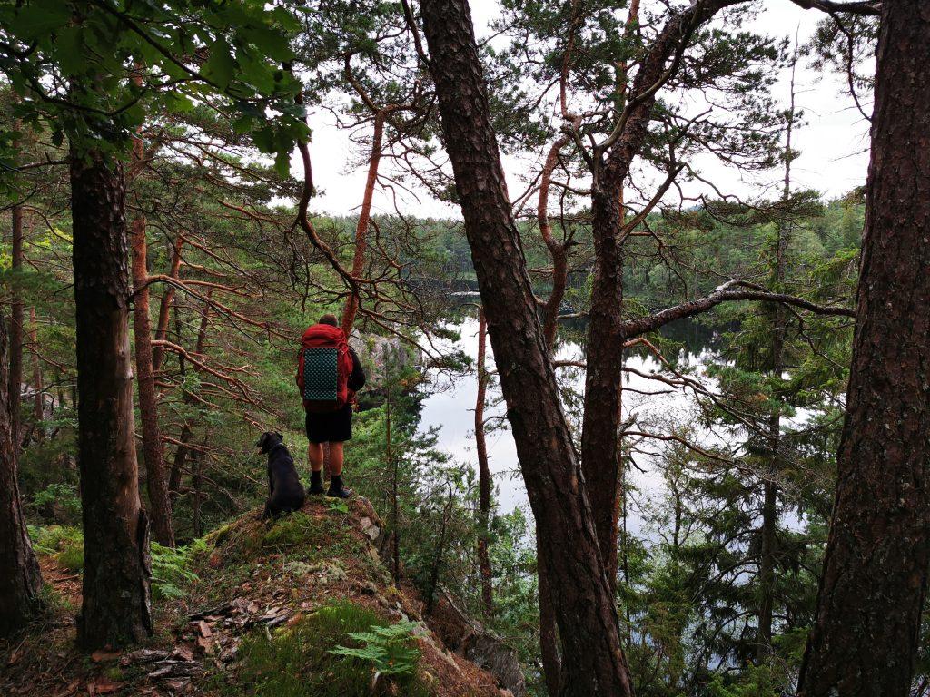En annan utsiktsplats vid Bergsjön