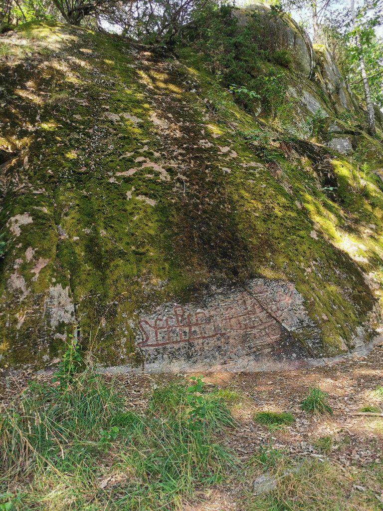 Hällristning från bronsåldern