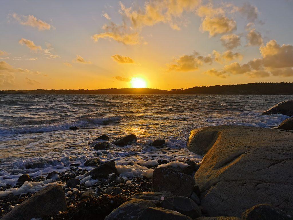 Hav, klippor och sol - undrar om jag någonsin kommer att få nog av det?