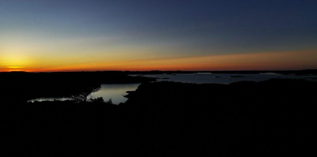 Vacker utsikt från Solklinten, Sundsbyleden / Kuststigen