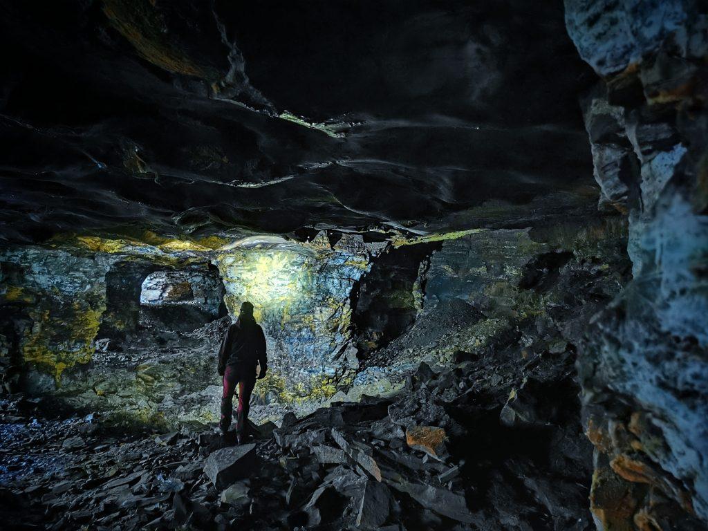 Fler grottor...