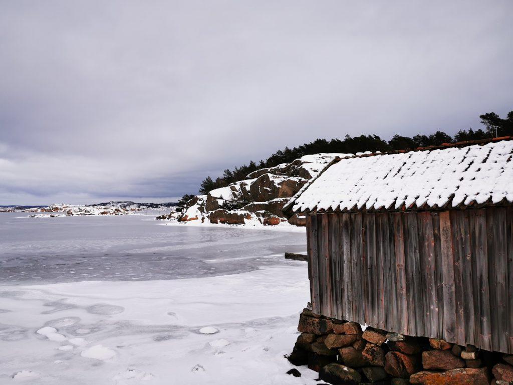 Än idag förvaras fiske- och båtutrustning i sjöbodarna i Valsäng
