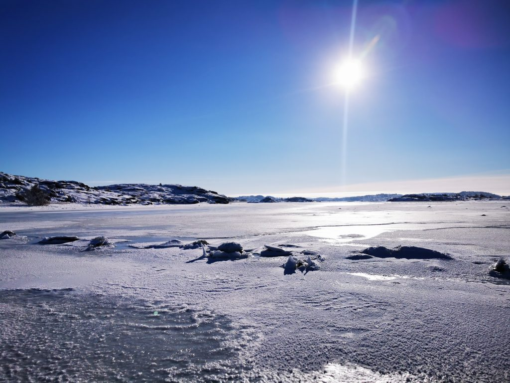 Osannolikt vacker vinterdag