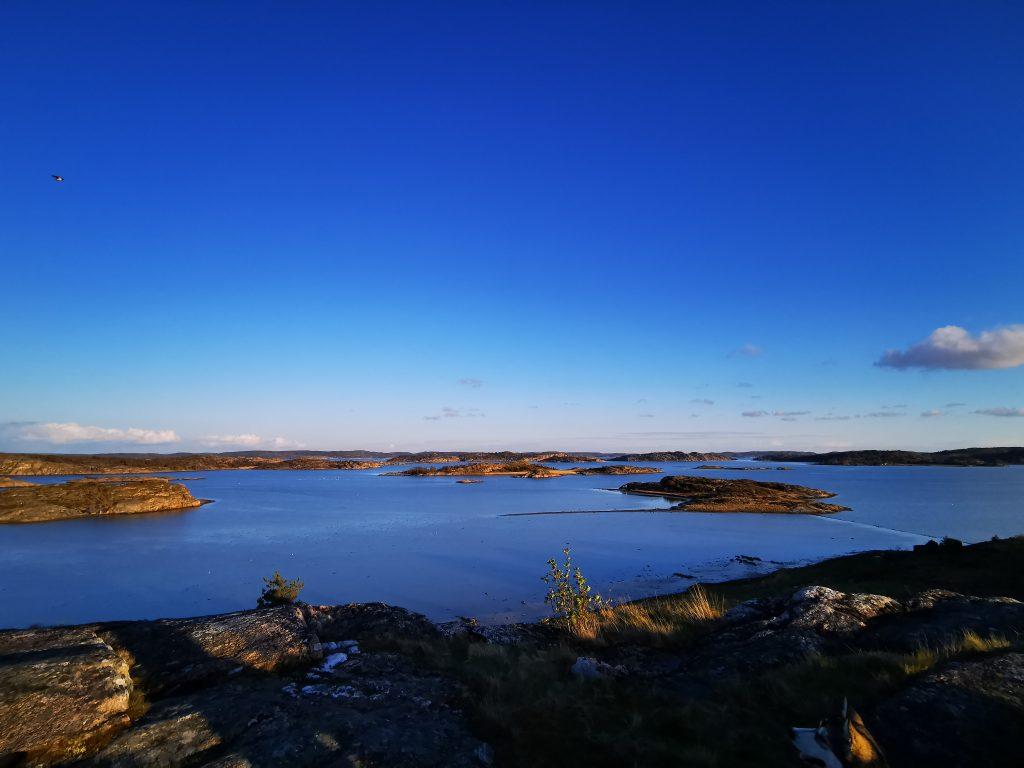 Ingen dålig utsikt över Stigfjorden!