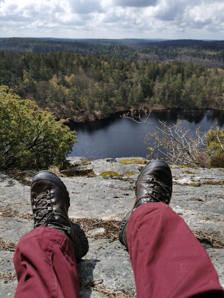 Här vill jag stanna - i naturreservatet Ranebo naturskog