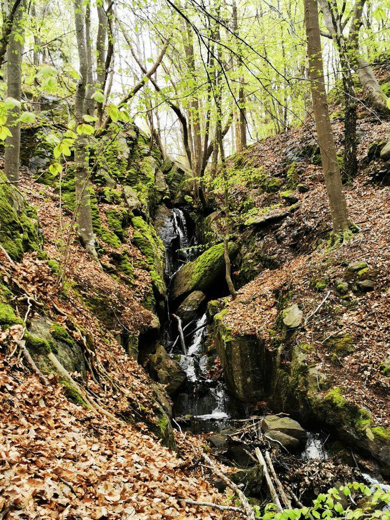 Vattenfallet vid Himlabacken, Orust