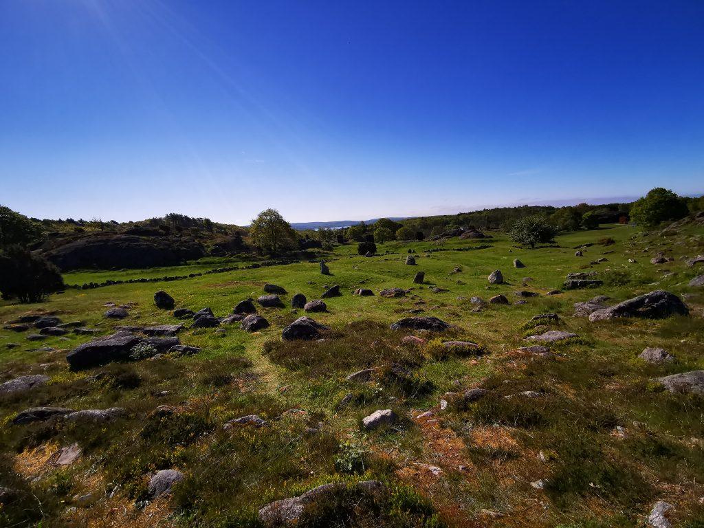 Gravfältet i Pilane