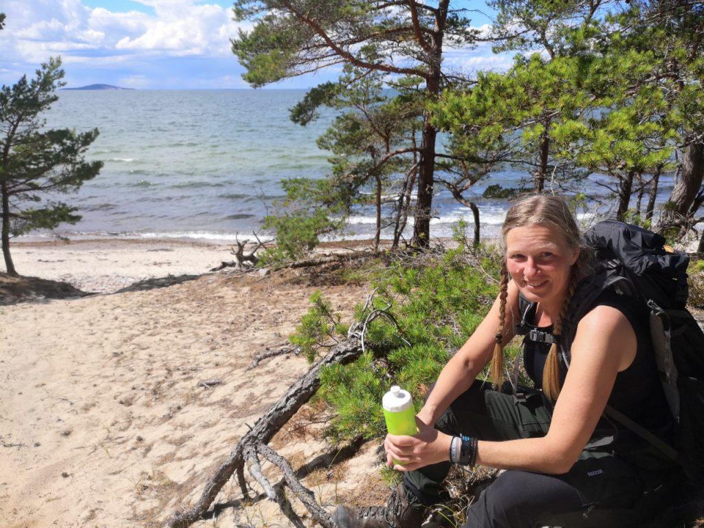 Den här platsen ville jag hitta tillbaka till och tälta på Öland