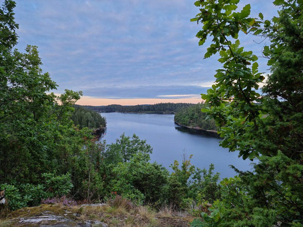 Gryning över Stora Skarsjön, Skarsjöleden