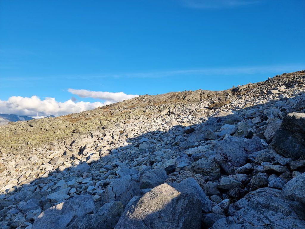 Sådan här sten gick vi i - hela vägen