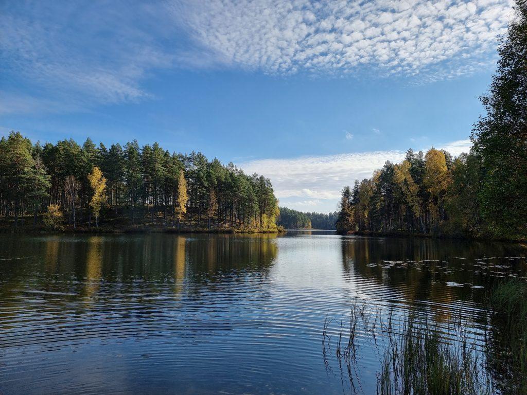 Sjön Skruven i Mariannelund vann tävlingen om sjö med klarast vatten